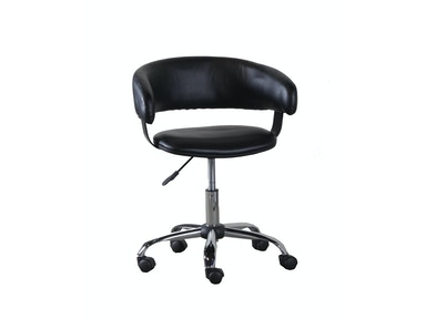 Powell Furniture Black Gas Lift Desk Chair