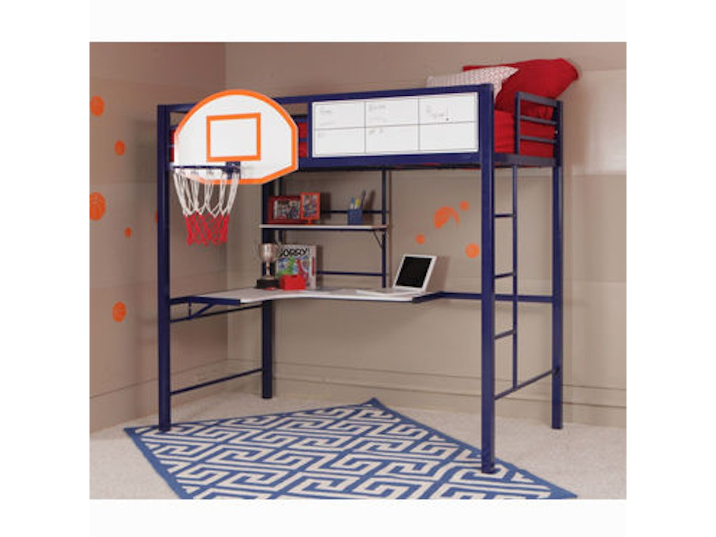 Powell Furniture Youth Hoops Basketball Loft 14y2002bb Kemper Home Furnishings London And