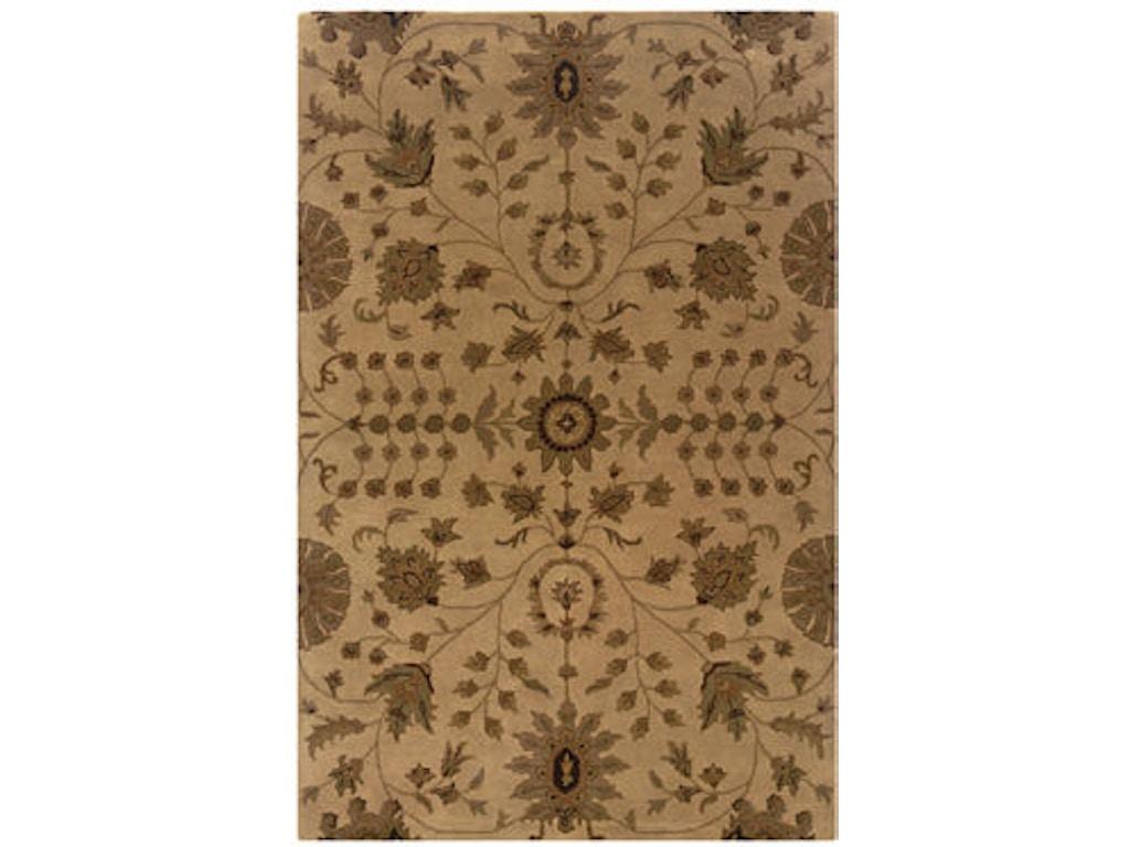 Powell Furniture Floor Coverings Bombay Bali Sand Rust Rug Merinos Home Furnishings