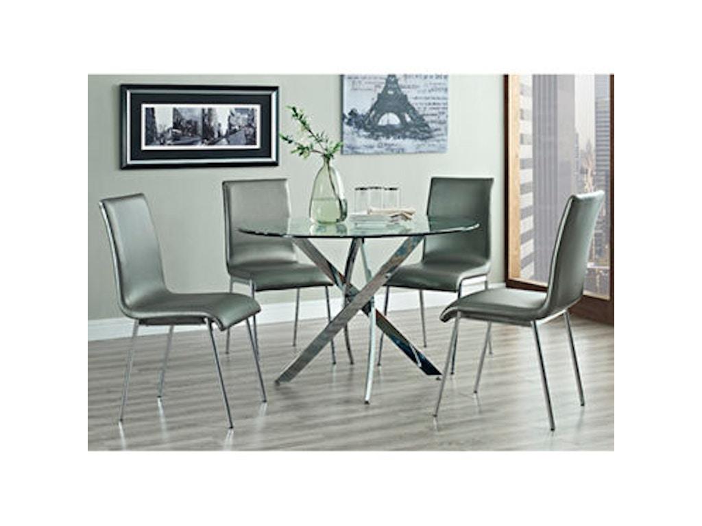 Powell Furniture Dining Room Putnam 5 Piece Set 205 413m1 Al 39 S Discount Furn Mattress Center