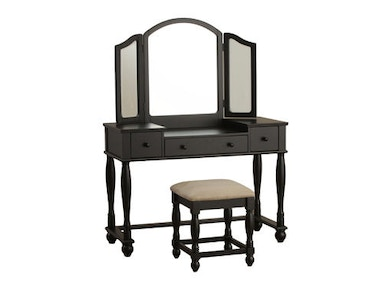 Powell Furniture Vanity, Bench 502-961