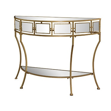 Powell Furniture Living Room Midas Mirror And Gold Console 527 350   Turner  Furniture Company   Avon Park And Sebring, FL
