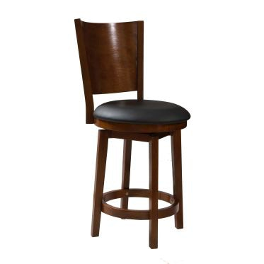 Powell Furniture Dining Room Big And Tall Solid Back Wood Counter Stool  697 889 At New Ulm Furniture Co.