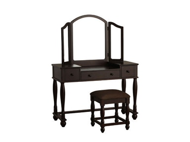 Powell Furniture Vanity, Bench 809-961