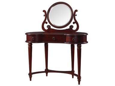 Powell Furniture Empress Vanity And Mirror 853-290