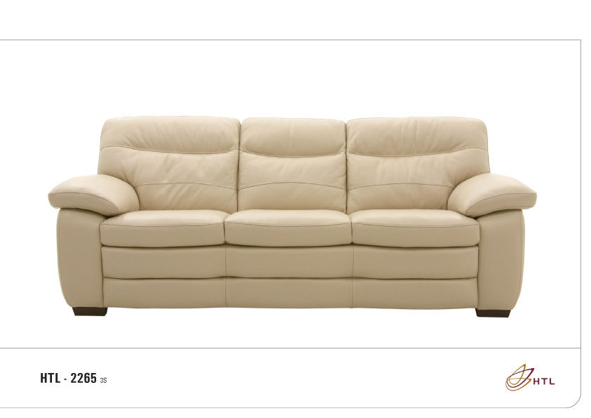 HTL Living Room Three Cushion Sofa 2265 3S M Jacobs