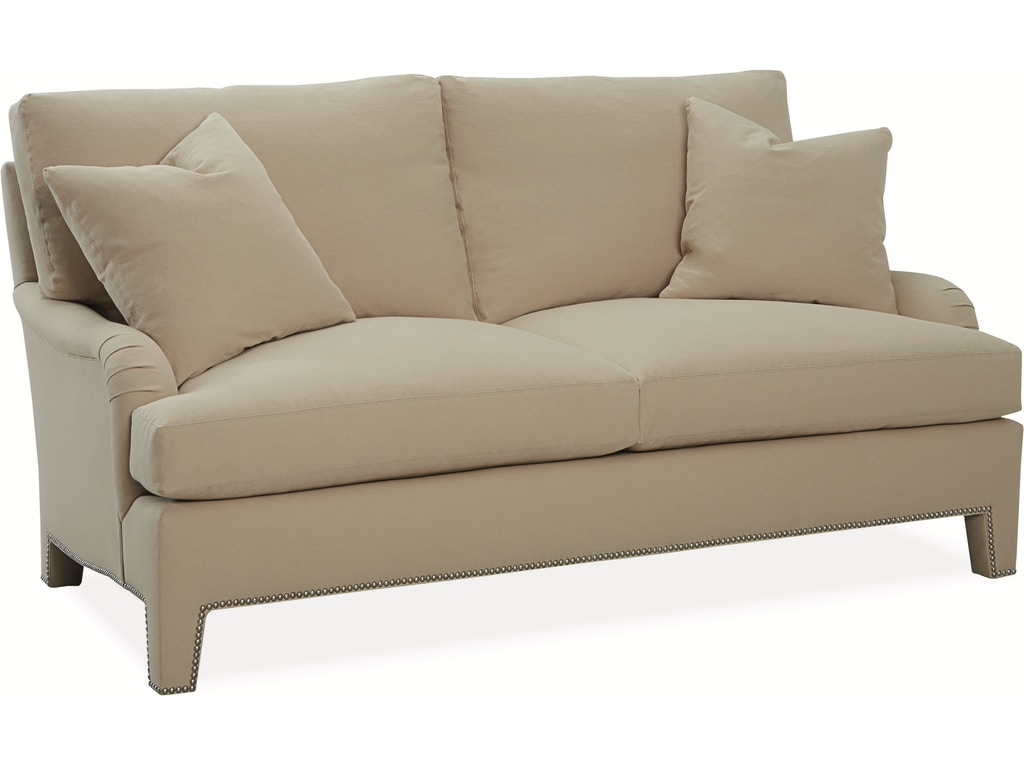 Lee industries living room apartment sofa 1075 11 for Sectional sofas in savannah ga