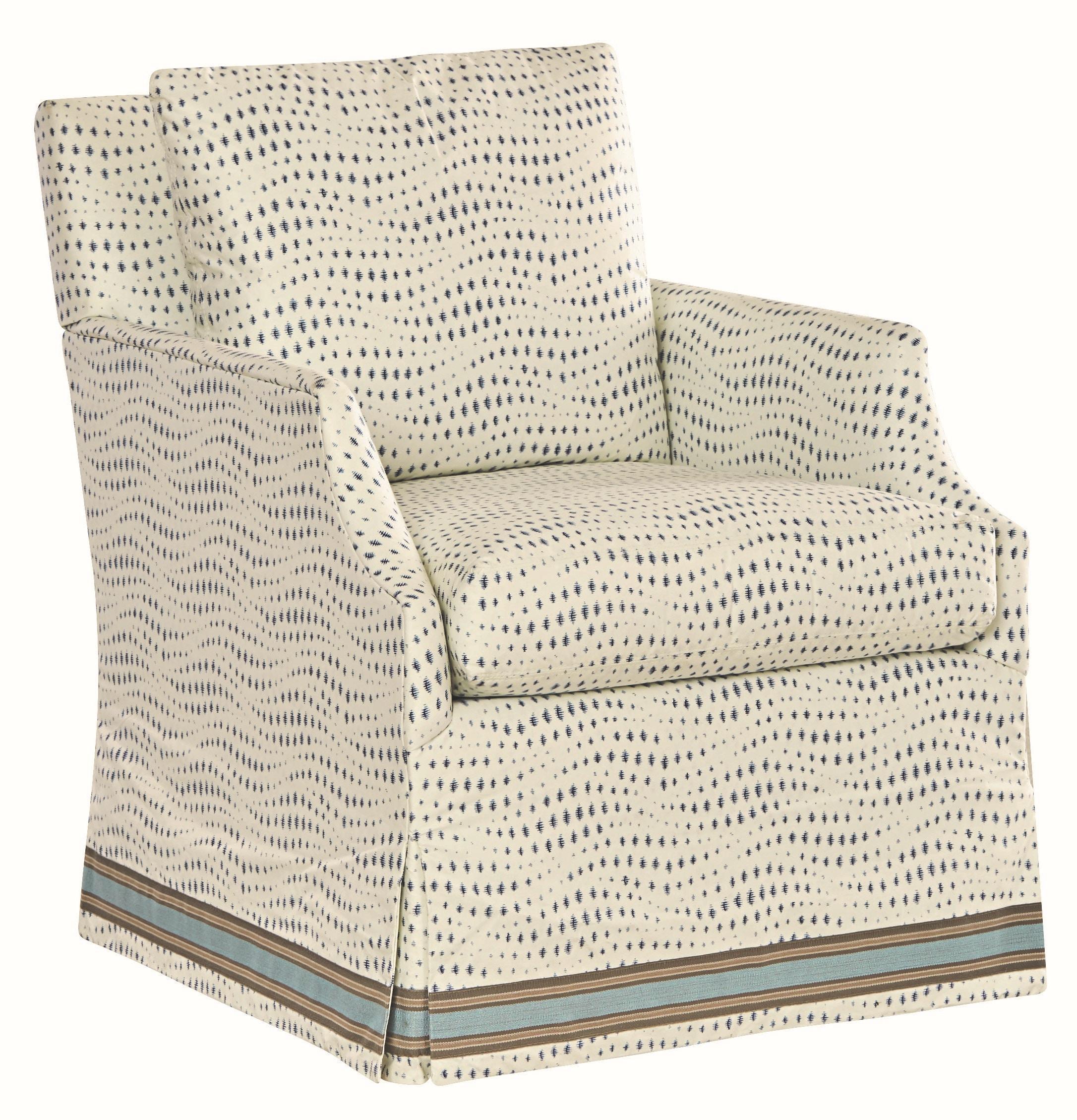 Lee Industries Swivel Chair 1201 01SW