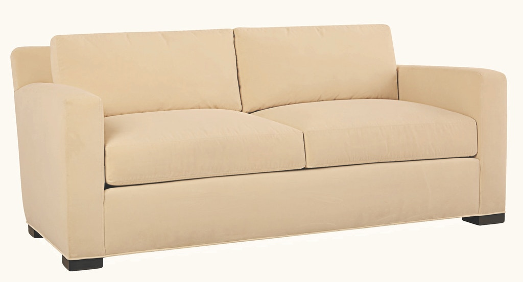 Lee Industries Living Room Leather Apartment Sofa L5232-11 ...
