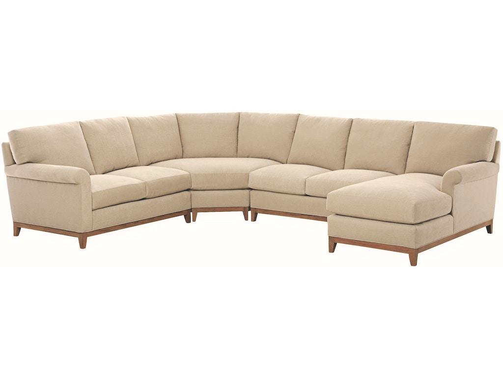 Lee Industries Living Room Series Sectional 7583-Series - Seville ...