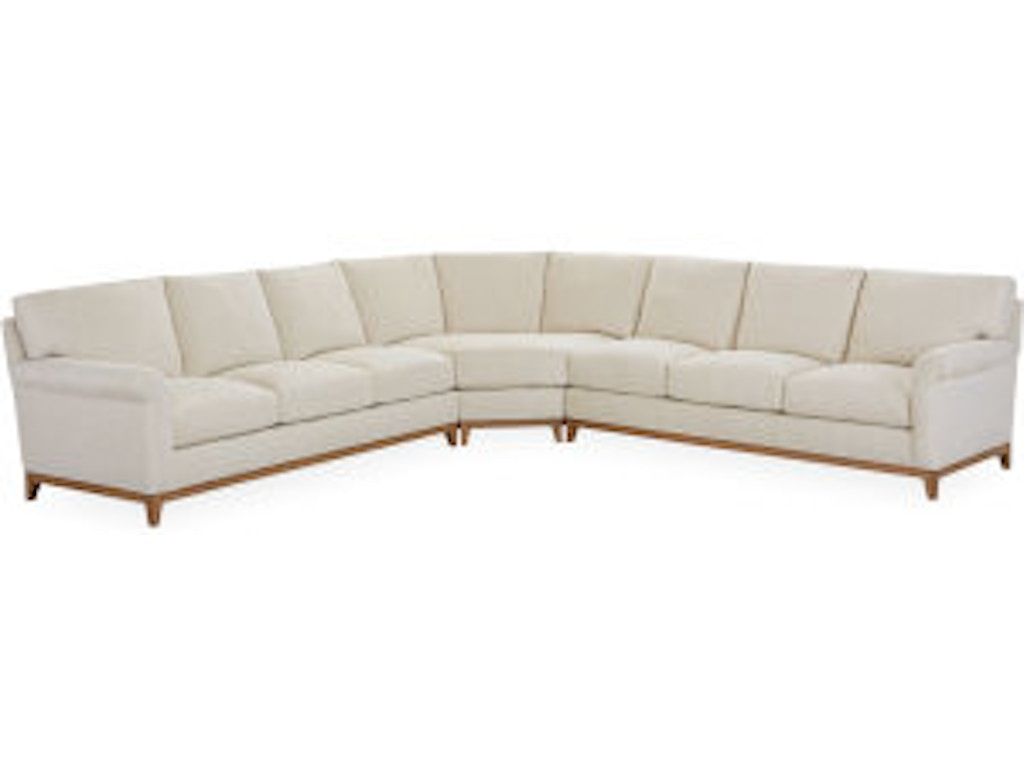 Lee Industries Living Room Series Sectional 7583-Series - Seville ...