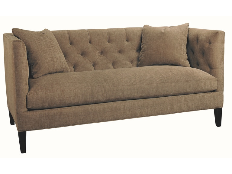 Lee Industries Living Room Leather Apartment Sofa L7733-11 - Tin ...