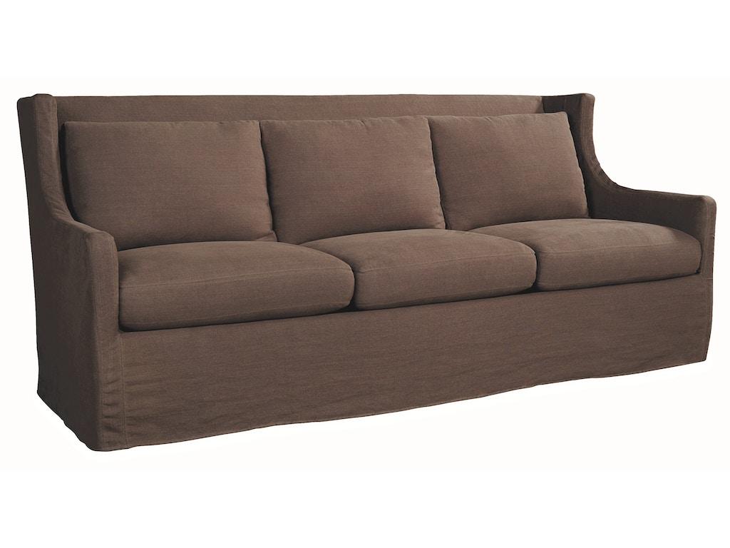 Lee Industries Living Room Slipcovered Sofa C1011 03 Tin