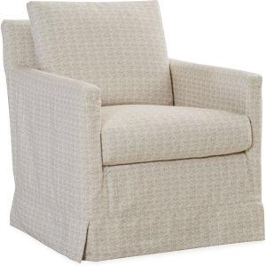 ... Lee Industries Slipcovered Swivel Chair C1935 01SW ...