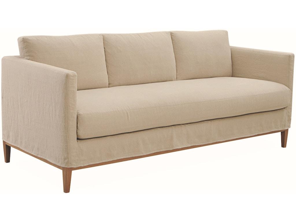 Lee Industries Living Room Slipcovered Sofa C3583 03 R W Design Exchange Cumming Ga And