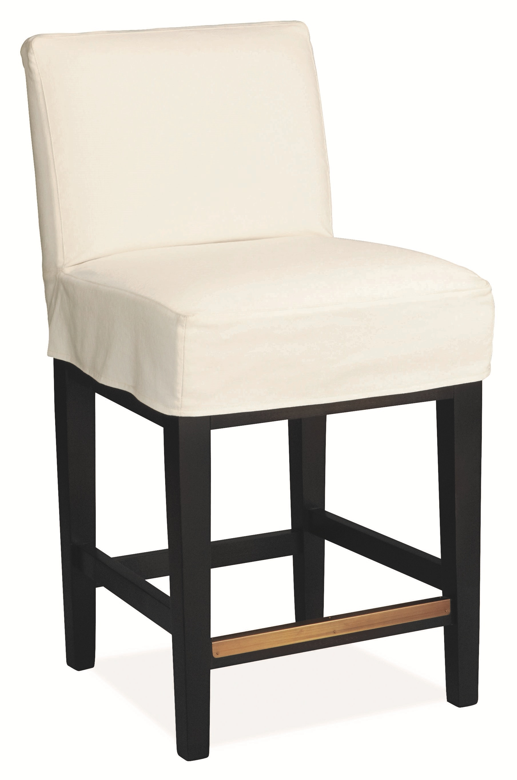 Lee Industries Bar And Game Room Slipcovered Counter Stool