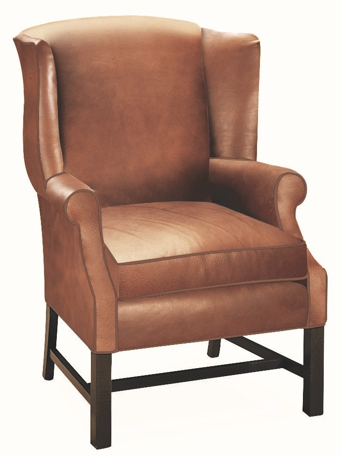 Lee Industries Leather Chair L1053 01