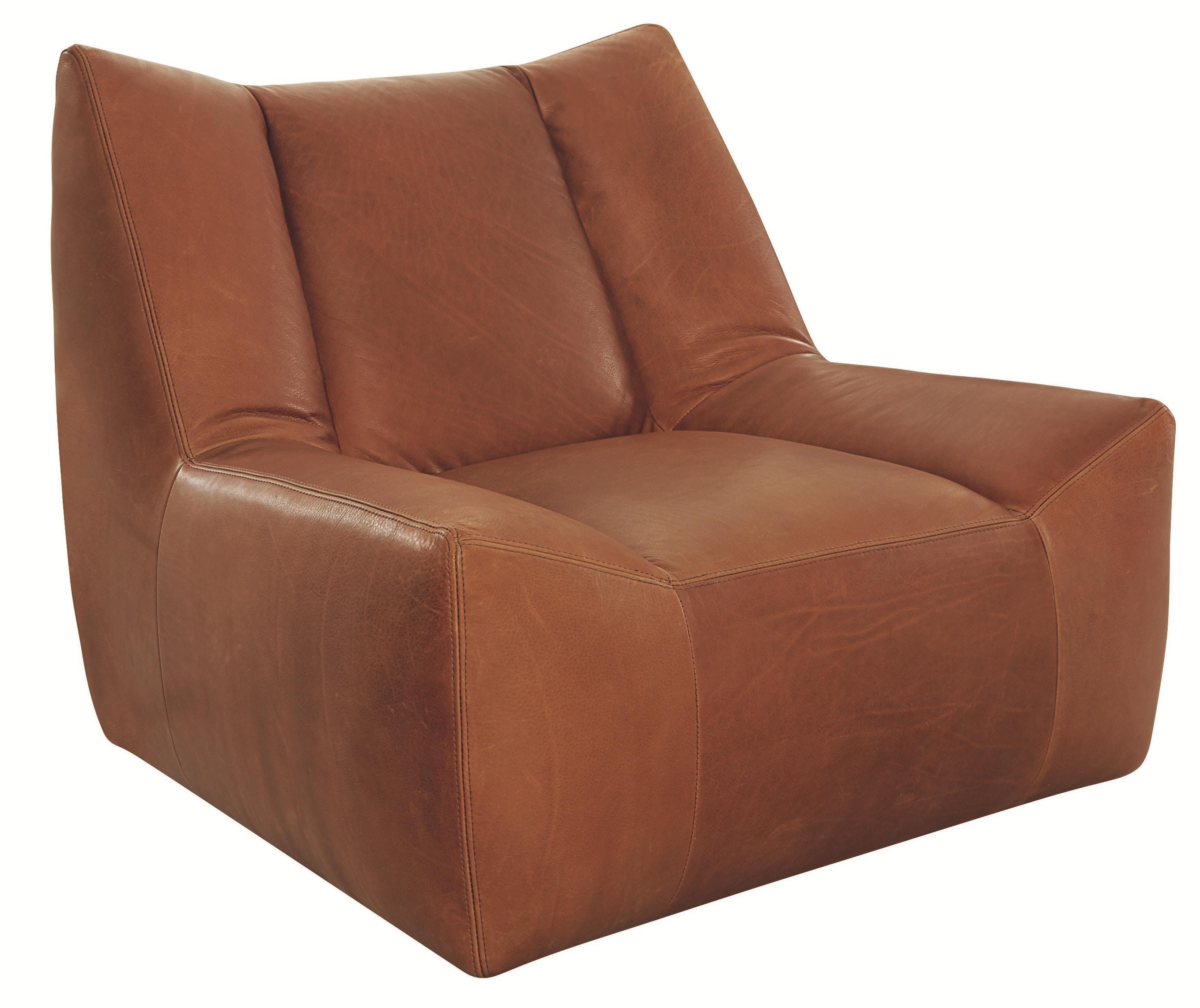 Lee Industries Leather Swivel Chair L1147 01SW
