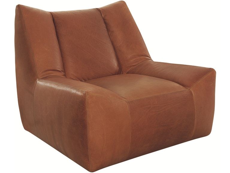 Lee Industries Living Room Leather Swivel Chair L1147-01SW - Tin ...