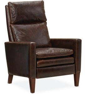 Lee Industries Leather Relaxor Chair L1274 01R