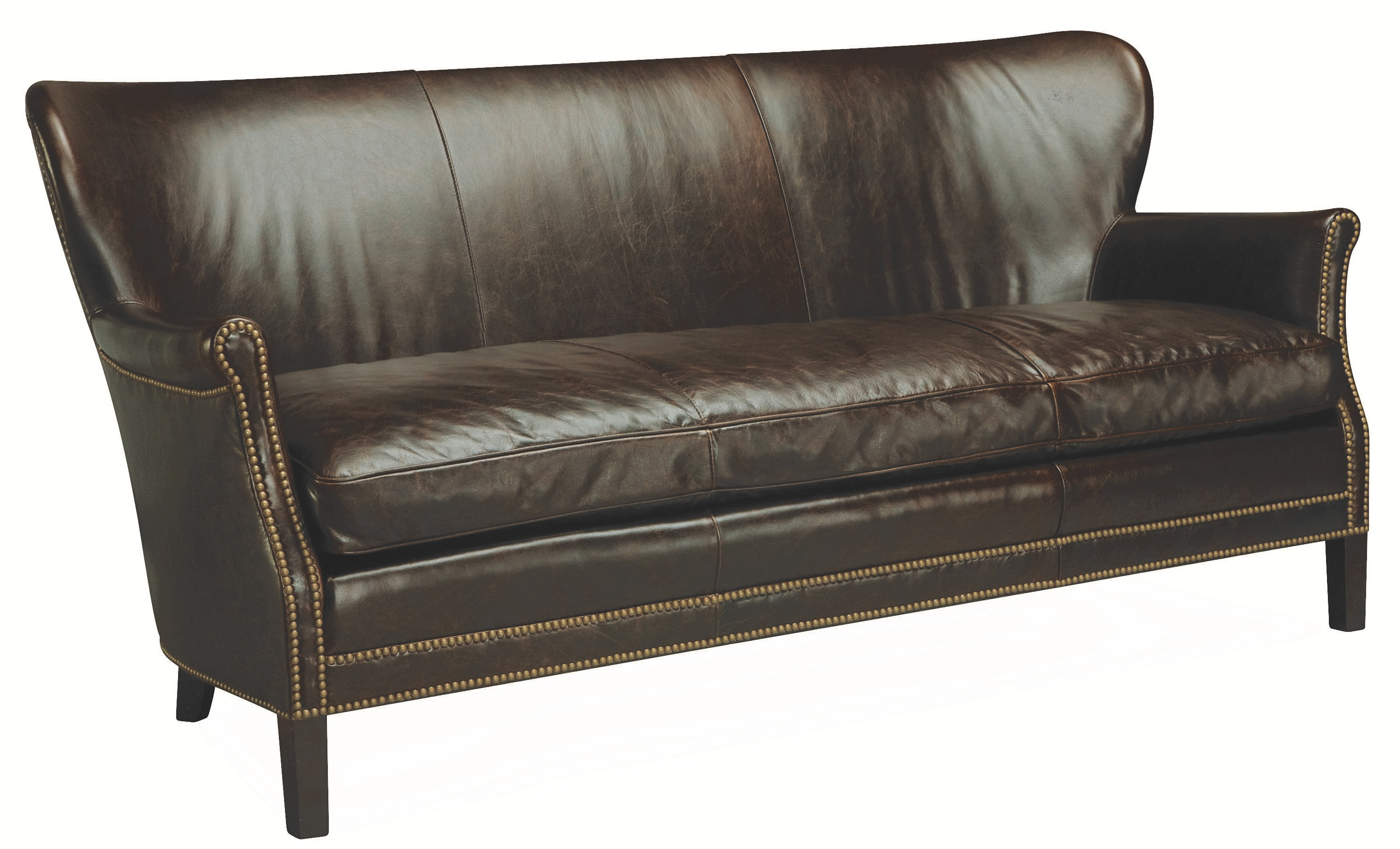 Lee Industries Leather Apartment Sofa L1347 11