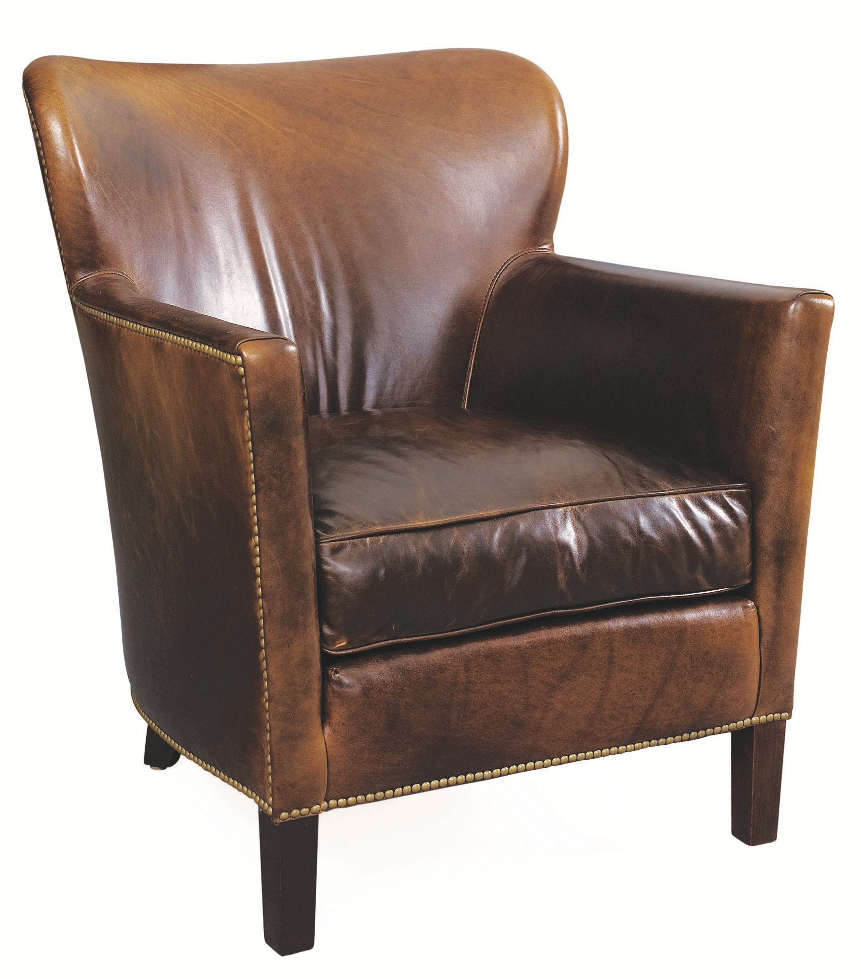 Lee Industries Leather Chair L1367 01