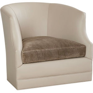 ... Lee Industries Leather Swivel Chair L3009 01SW ...