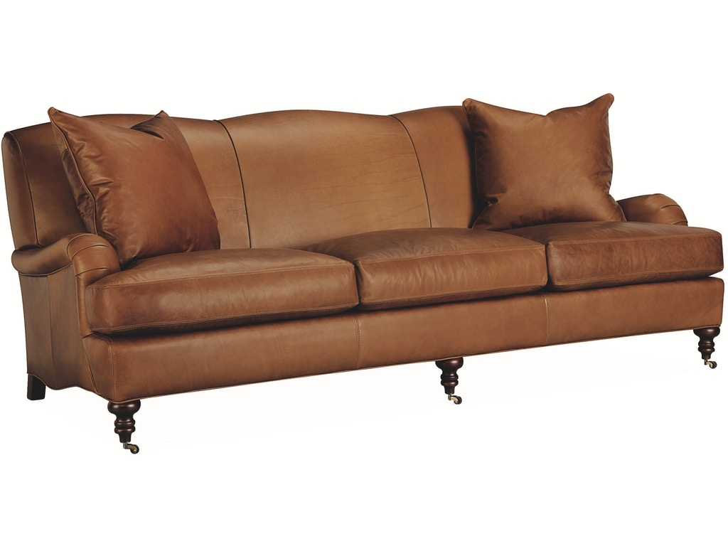 Lee industries living room leather sofa l3278 03 georgia for Sectional sofas in savannah ga