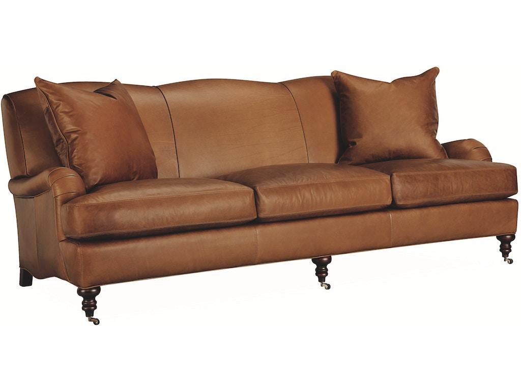 Lee Industries Living Room Leather Sofa L3278 03 Georgia Furniture Savannah Ga