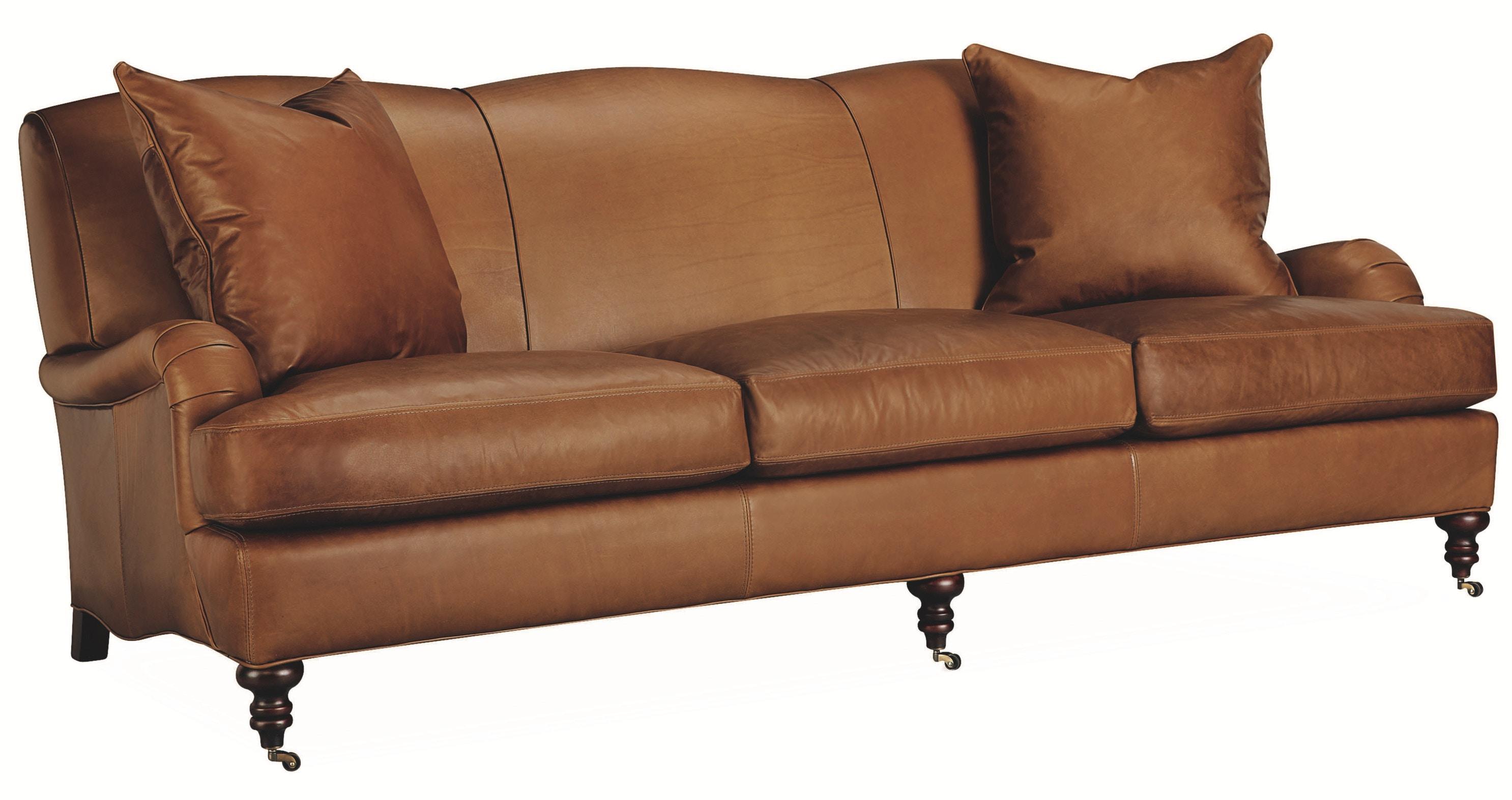 Lee Industries Living Room Leather Sofa L3278 03   Meg Brown Home  Furnishings   Advance, Winston Salem, Greensboro And Lexington, NC