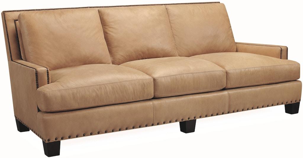 Lee Industries Living Room Leather Sofa L3722 03 At Georgia Furniture