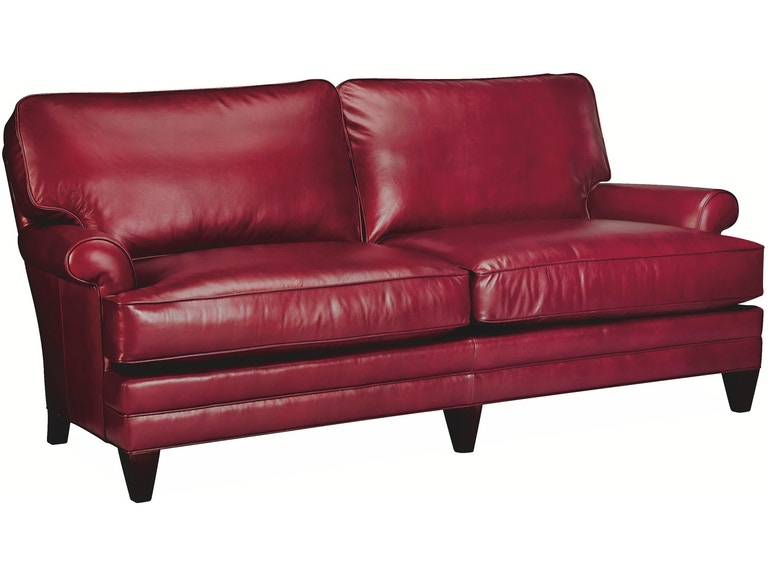 Lee Industries Living Room Leather Apartment Sofa L3894-11 - Georgia ...