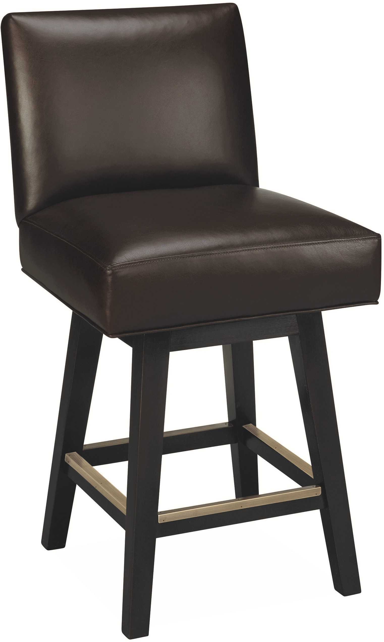 Lee Industries Bar And Game Room Leather Swivel Counter