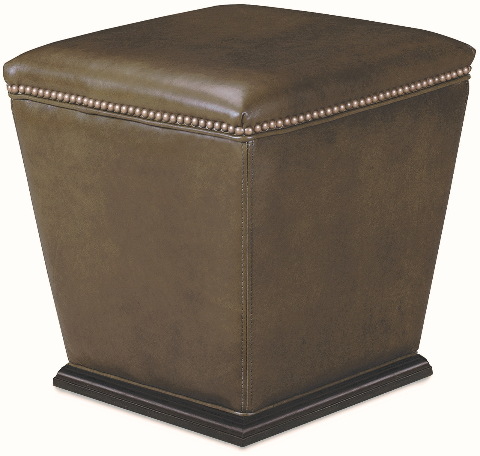 Lee Industries Living Room Leather Bongo Ottoman L9308 00