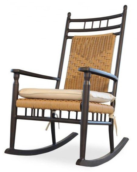 Lloyd Flanders Outdoor/Patio Low Country Porch Rocker 77036   Bacons  Furniture   Sarasota And Port Charlotte, FL
