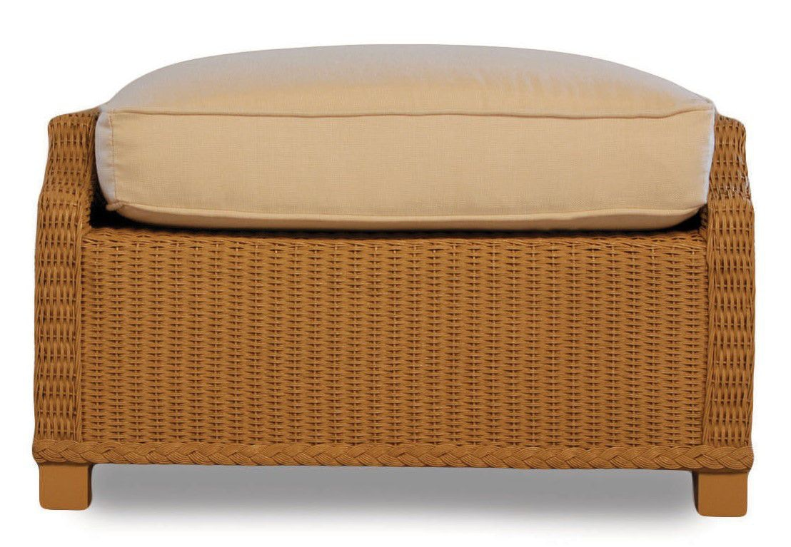Lloyd Flanders Outdoorpatio Deep Lounge Ottoman 15037