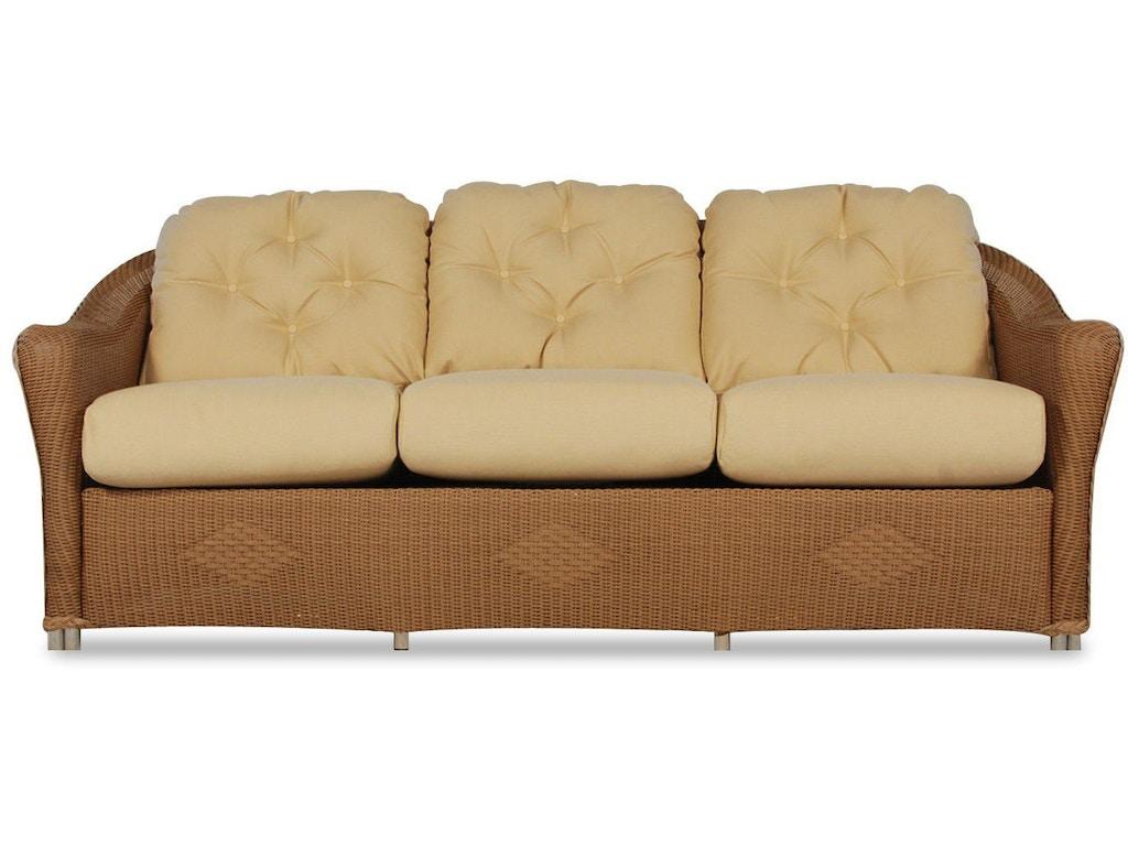 Lloyd flanders outdoor patio sofa 9056 archers hall for Sofa design for hall