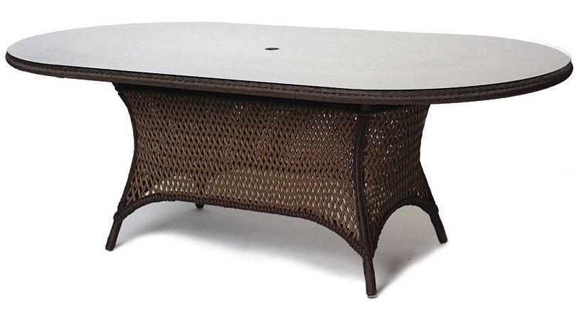 Lloyd Flanders Glass Umbrella Table 71084