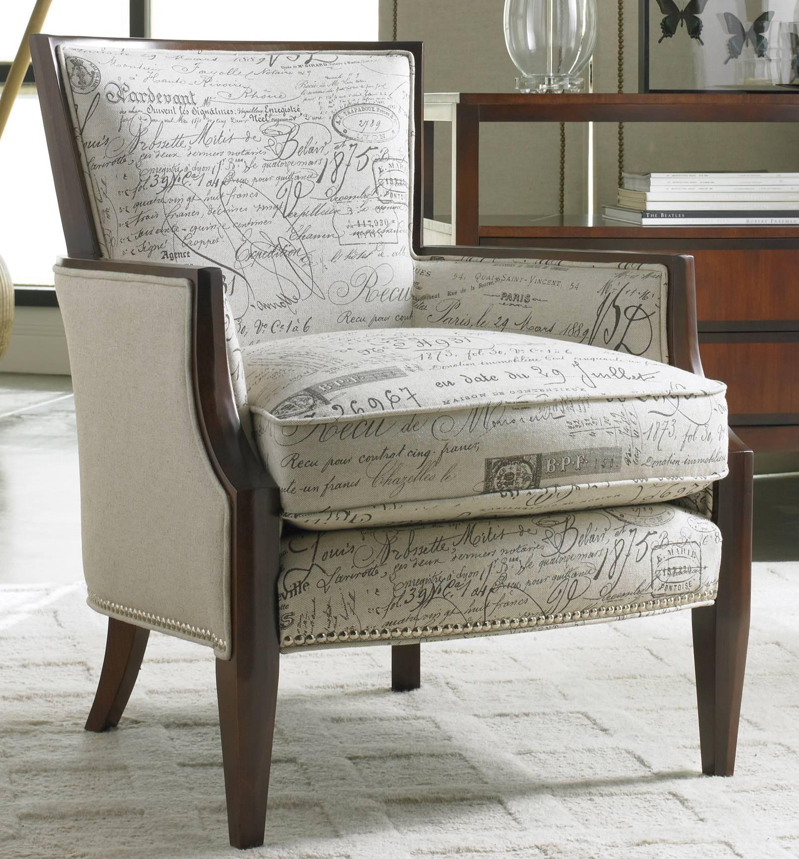 Sam Moore Nadia Exposed Wood Chair 4508SM
