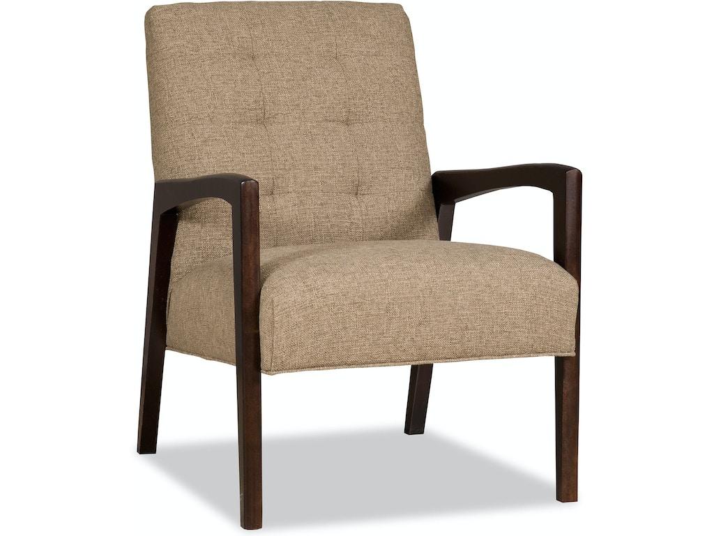 Sam Moore Living Room Gordon Exposed Wood Chair 4682