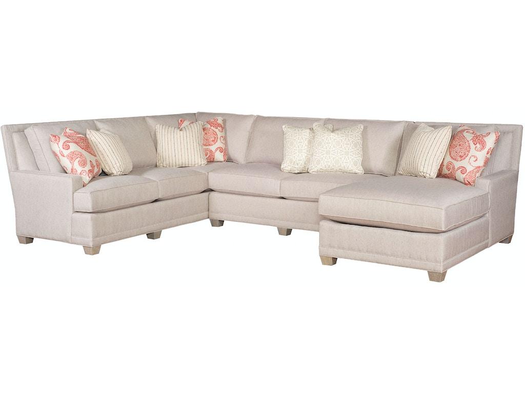 King Hickory Living Room Savannah Sectional 1000 62 74 83 Twz F North Carolina Furniture Mart