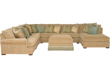 King Hickory Casbah Leather Sectional