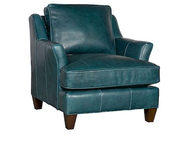 King Hickory Melrose Leather Chair