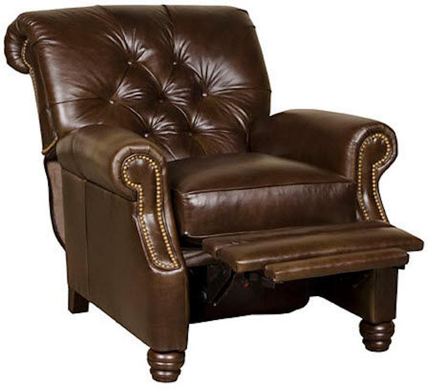 Leather Furniture Hickory North Carolina: King Hickory Living Room Monroe Recliner 147-LR