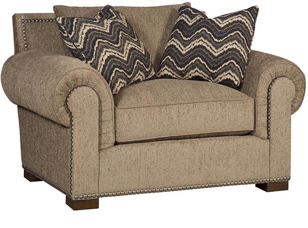 King Hickory Arthur Fabric Chair And Half 1501