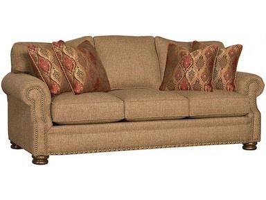 King Hickory Living Room Easton Fabric Sofa 1600 Schmitt Furniture
