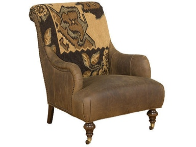 Gina Leather/Fabric Chair