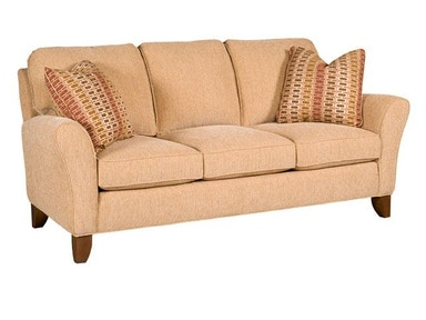 King Hickory Harmony Fabric Sofa 3950