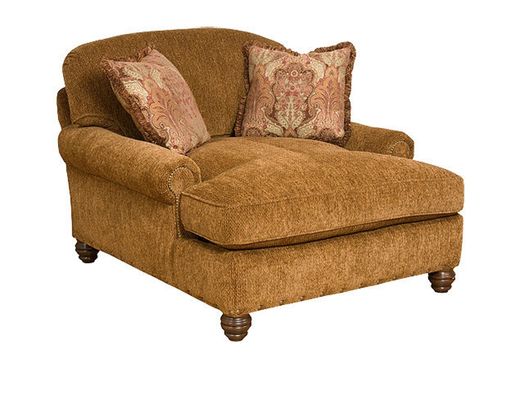 king hickory living room charlotte chaise and a half 260