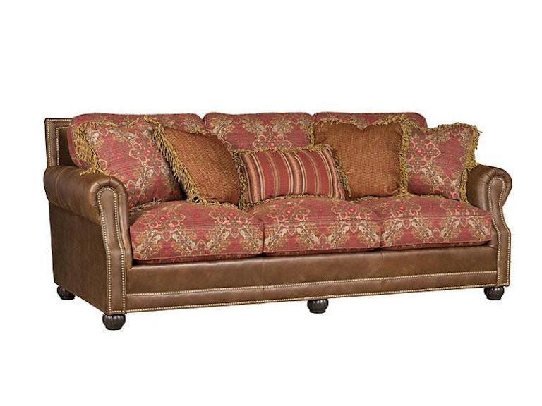 king hickory living room julianna leather fabric sofa 3000